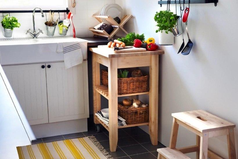 Köögi sisustamisel on kasulik rakendada ergonoomilist kolmnurgareeglit