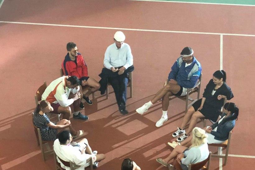 TULE VAATAMA! Räppar Reket mängib videovõtetel tennist Anett Kontaveidiga