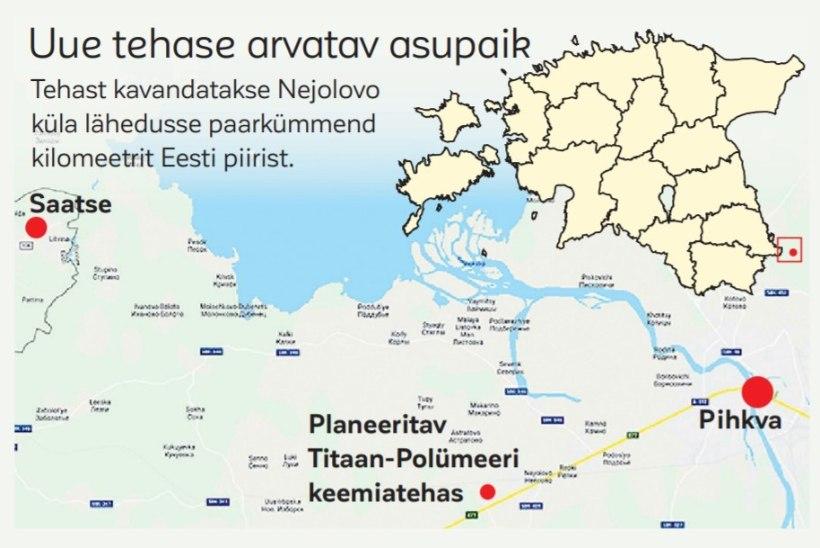 Venemaa sõna maksab? Eesti piiri äärde rajatav keemiatehas täidab ohutusnõudeid
