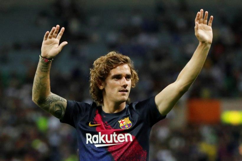 TOHOH! Hispaania liiga presidendi sõnul võidakse Griezmanni üleminek Barcelonasse blokeerida