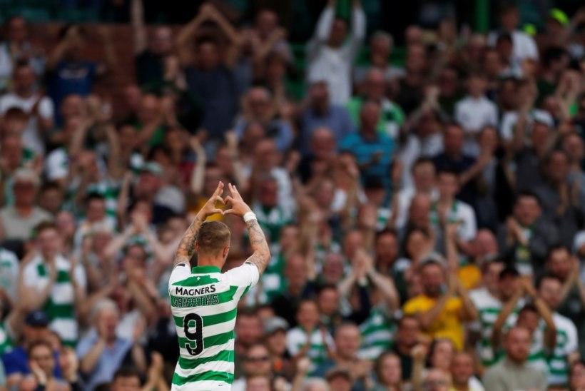 VIDEO | Nõmme Kaljule löödud värav tõi Celticu ründajale pisara silma