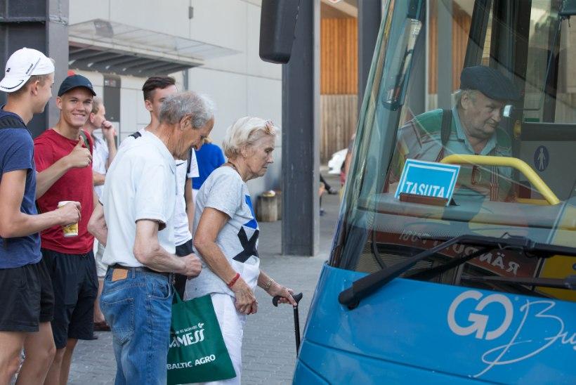 USKUMATULT HEA TULEMUS: maaliinibussis kinnitas turvavöö kaheksa reisijat!