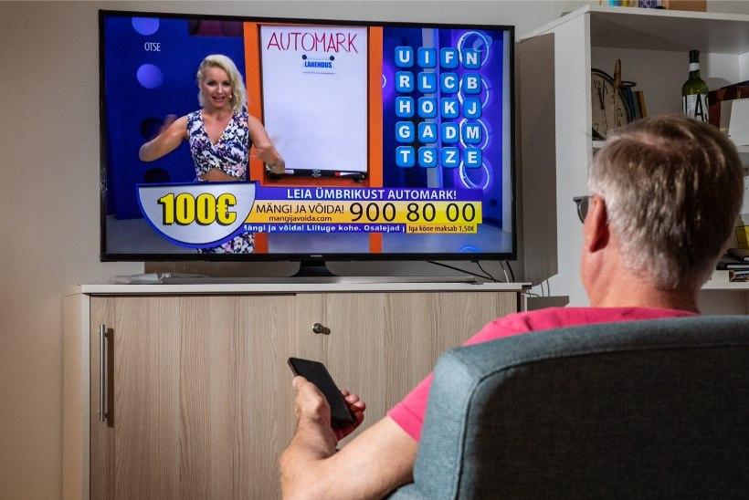 """KÕIK! Skandaalne telemäng """"Mängi ja võida!"""" pannakse augusti alguses kinni"""