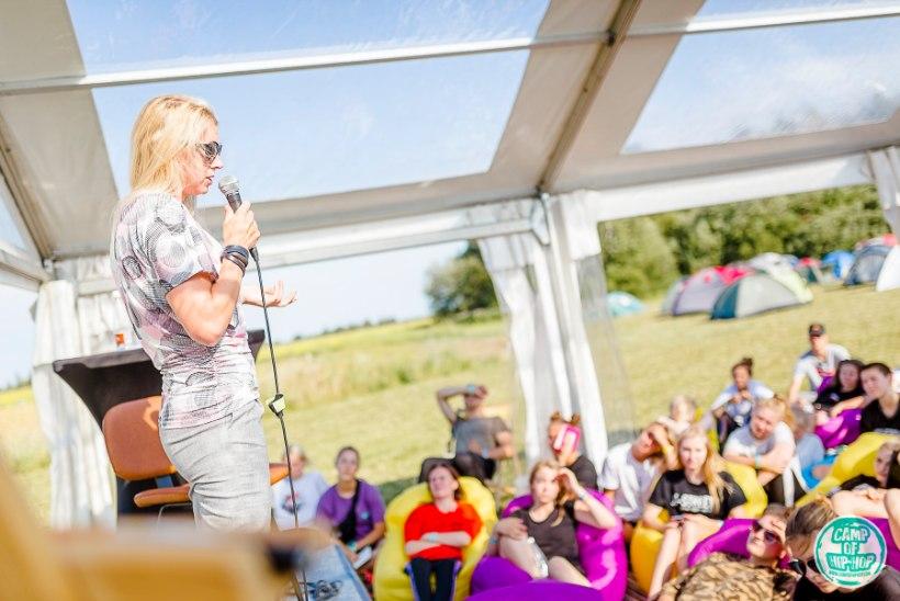 VIDEO JA GALERII | Camp of Hip-Hop laagrit väisas ka Kristina Šmigun-Vähi