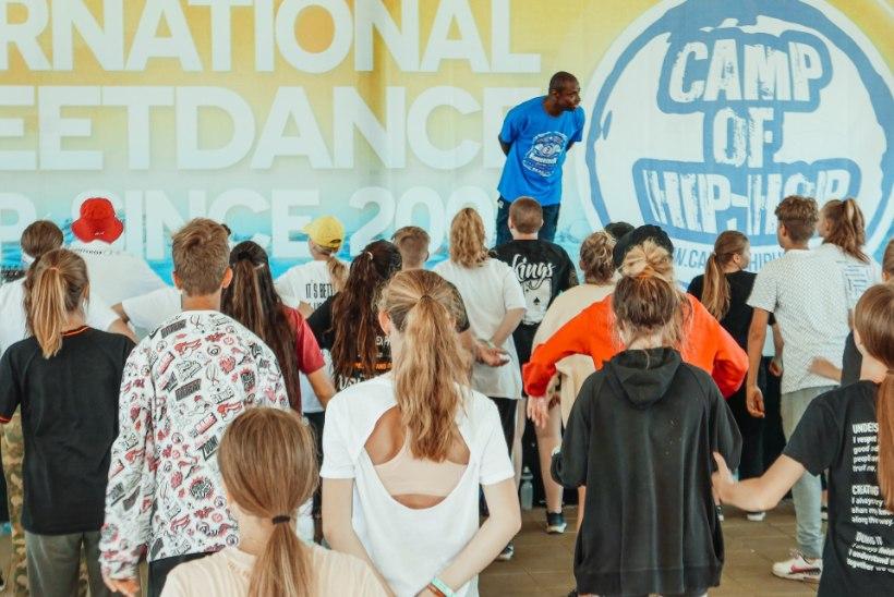 VIDEO JA GALERII | Camp of Hip-Hop laagri neljandal päeval said osalejad kuulata Kristel Aaslaiu õpetussõnu