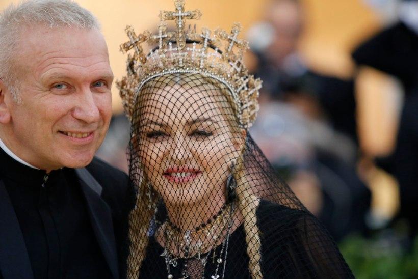 Jean Paul Gaultier palus Madonnat kolm korda endale naiseks