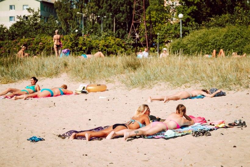 LEITSAKUHOIATUS: üle Eesti on täna sooja 30 või enamgi kraadi