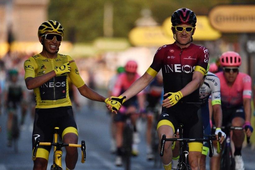 AJALUGU! Tour de France'il triumfeerinud Bernal püstitas mitu rekordit