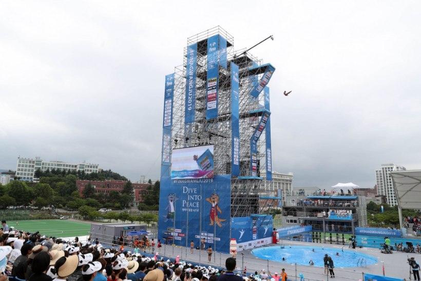 ADRENALIINISÕLTLASTELE! Kaljuhüpetes jagatakse medaleid juba neljandat MMi järjest