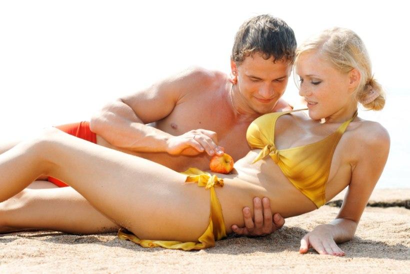 Lutsutajad rannaliival: miks teevad noored eelmängu nii avalikult?!
