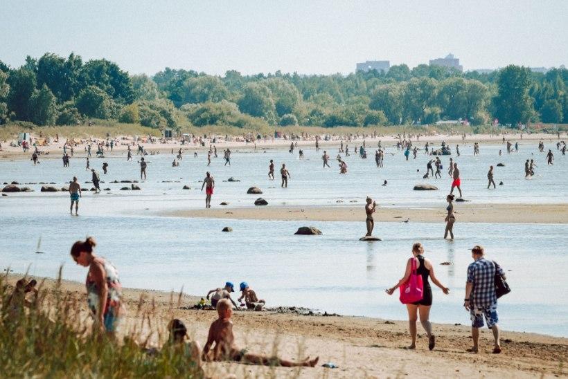 KUUMAREKORD JÄI LÖÖMATA: nädalavahetusel tõusis temperatuur 33 kraadini