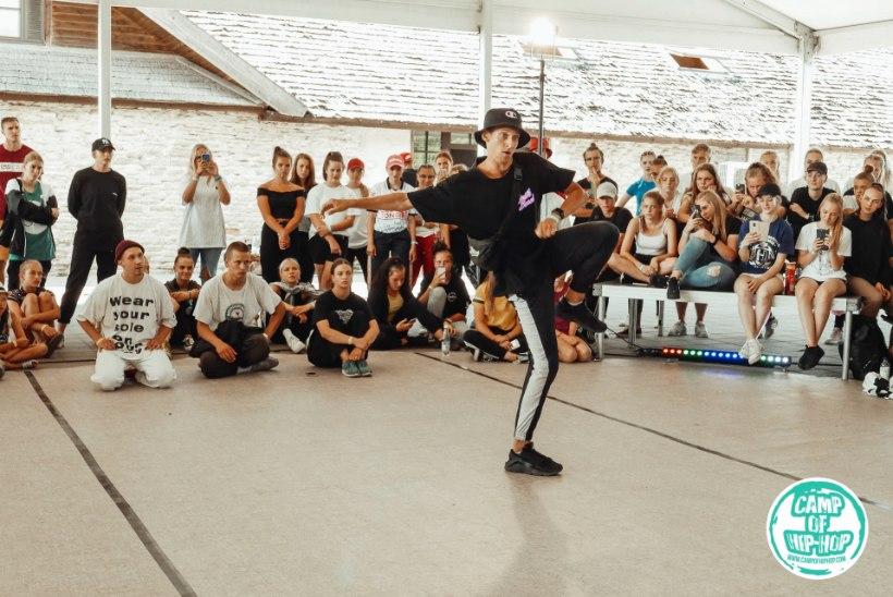 GALERII | Camp of Hip-Hop elustiililaagri lõpupäeval peeti tantsuvõistlus Battle Day