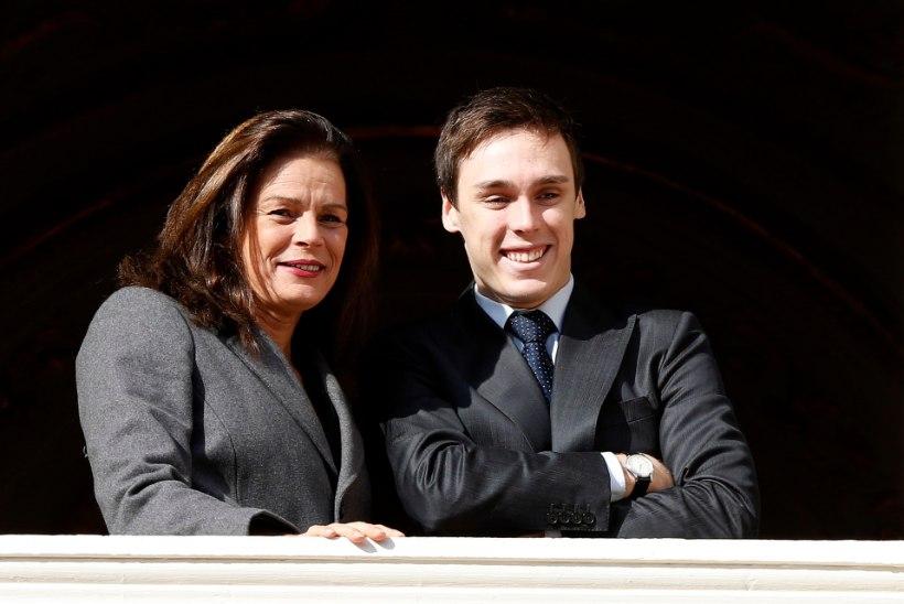 Monaco printsessi Stéphanie poeg võttis naise