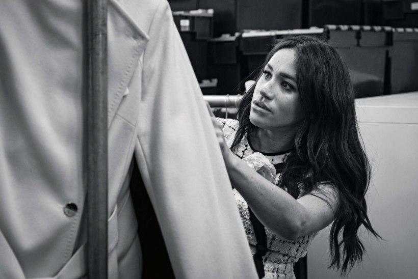Briti Vogue'i külalistoimetanud Meghan keeldus kaanel poseerimast