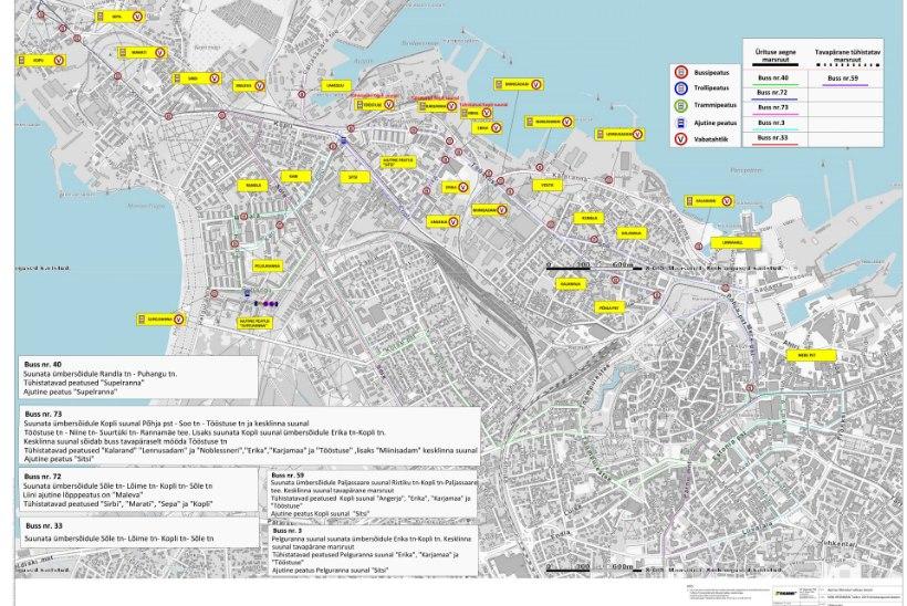 Ironman Tallinna triatlon paiskab ühistranspordi liikluse segi