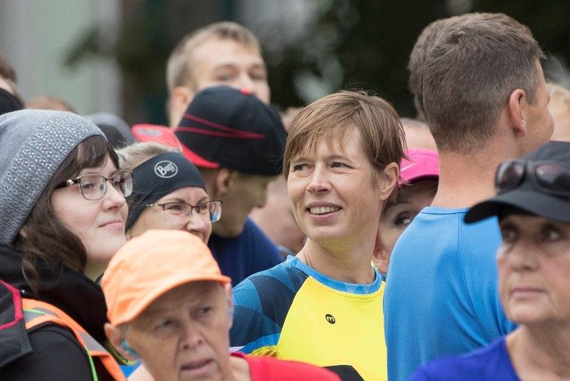 President Kaljulaid osales Tour de France'i rahvasõidul oma kuludega