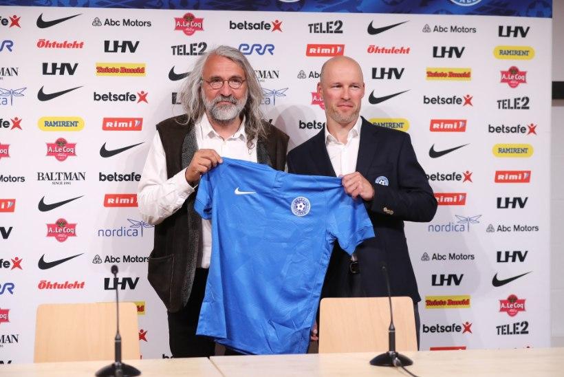 VIDEO ja GALERII | Ametlik! Eesti jalgpallikoondist juhendab valiksarja lõpuni Karel Voolaid