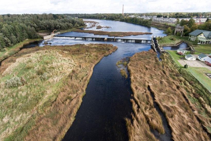 Sindi paisu lammutamine muutis jõe ojaks ja jättis paljud kaevud tühjaks