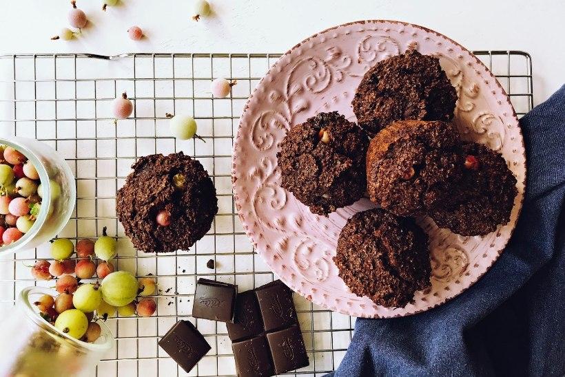 Marjahooaja maiustus: tikritega šokolaadimuffinid