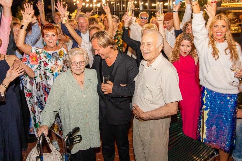GALERII | MEELEOLUKAS PIDU: Taivo Piller tähistas juubelit lummava vaatega katuseterrassil
