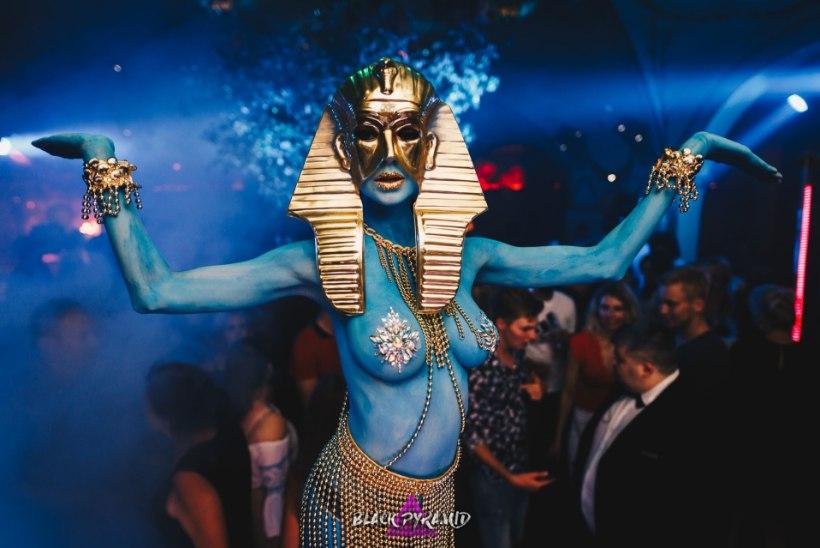 PEOGALERII | Iidne Egiptus ja maaväline energia - uus pidudesari Black Pyramid on sündinud!