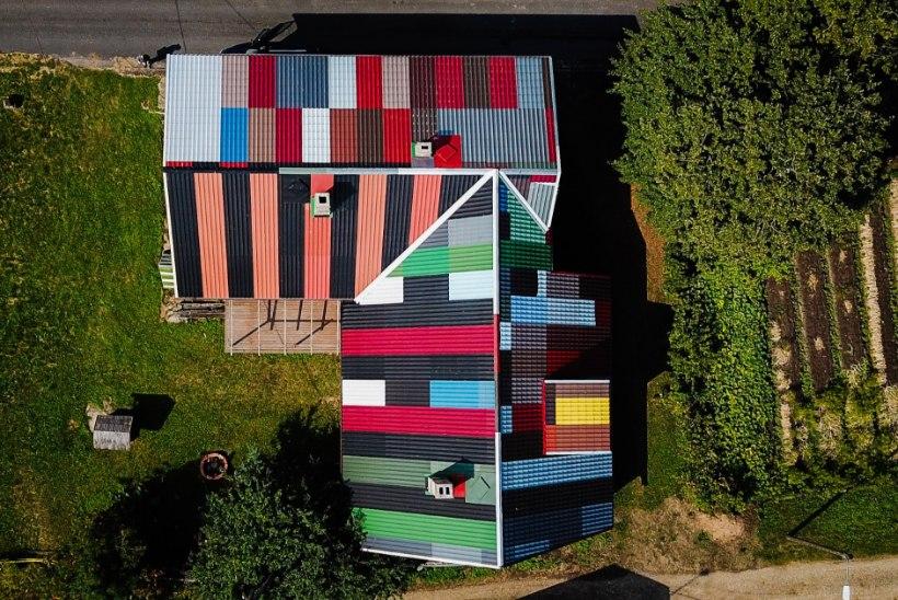 Vaata ja imesta! Üks pöörasemaid katuseid Eestimaal