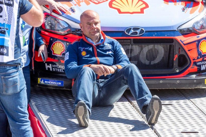Hyundai tiimiboss kritiseeris oma sõitjat: kurat võtaks, Tänak peab samuti pissil käima!