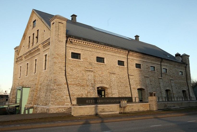 Arhitektuurimuuseumi ette kerkib neljameetrine tulevikutehnoloogiline paviljon