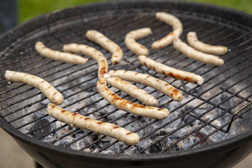 ÕHTULEHE SUUR TOORVORSTITEST: õigel grillvorstil olgu krõmps kest ja maitsekas sisu