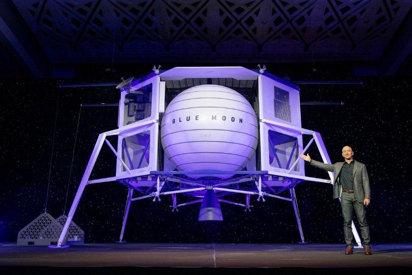 Apollo 11 lennu juubeliaastal on alanud uus võidujooks Kuule
