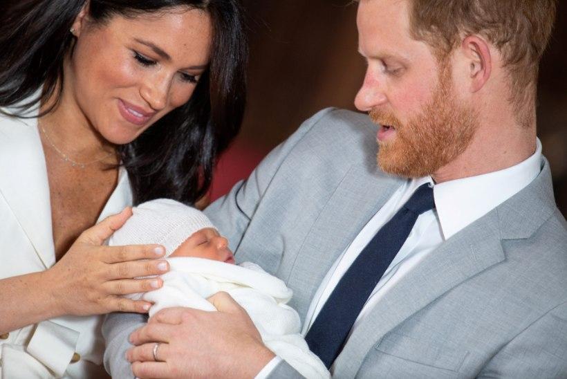 Fännid marus! Prints Harry ja Meghan Markle hoiavad poja ristsed avalikkuse eest salajas