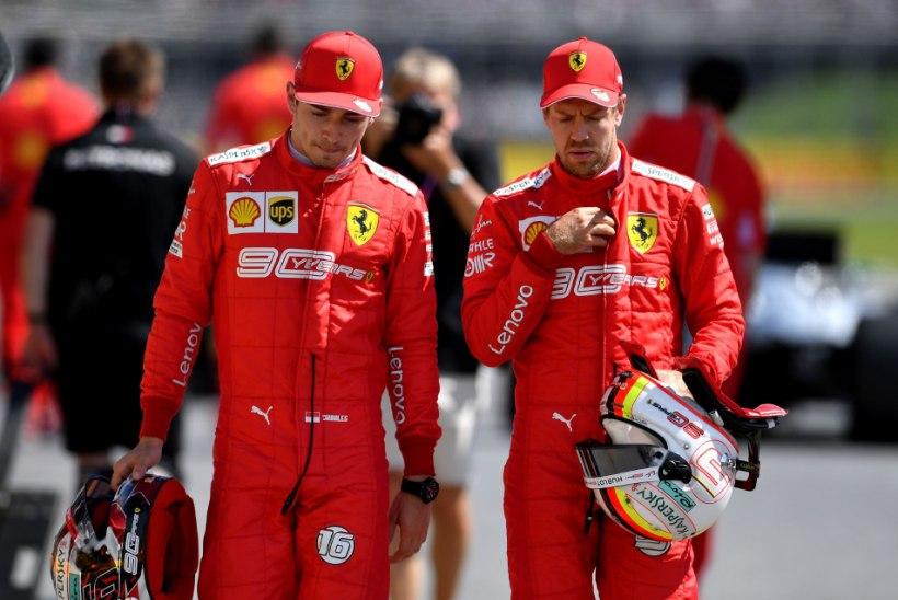Vetteli aeg on läbi? Leclerc võttis tiimikaaslase teemal sõna