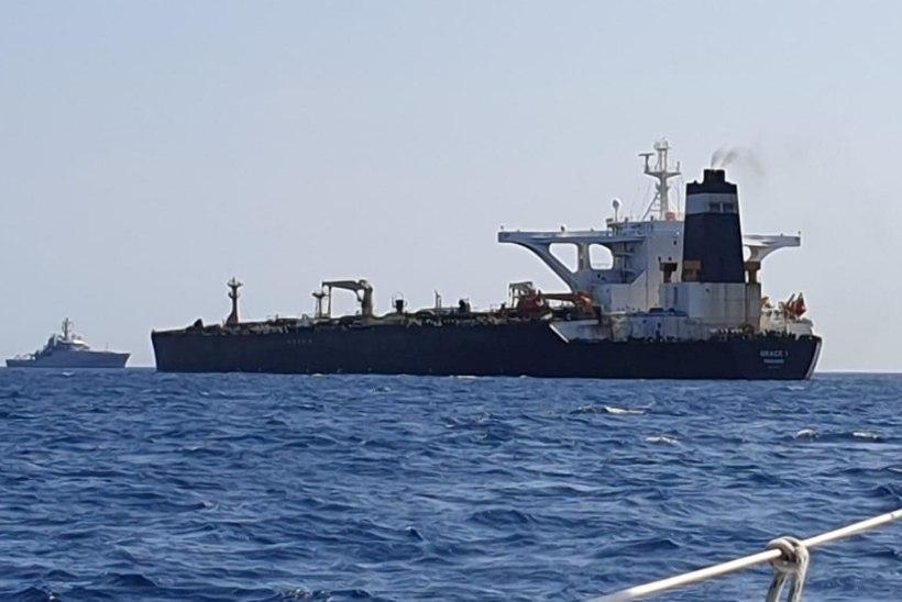 IRAAN ÄHVARDAB: kaaperdame kättemaksuks Briti naftatankeri