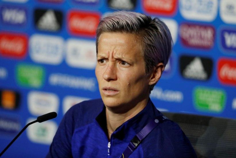 USA staar Rapinoe kritiseerib jälle: FIFA ei austa meid!
