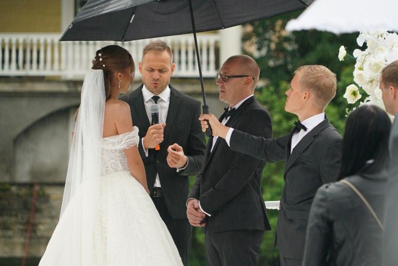 UHKE PULMAGALERII | Rallisõitja Georg Gross sõudis abieluranda, peiupoisiks oli Ott Tänak