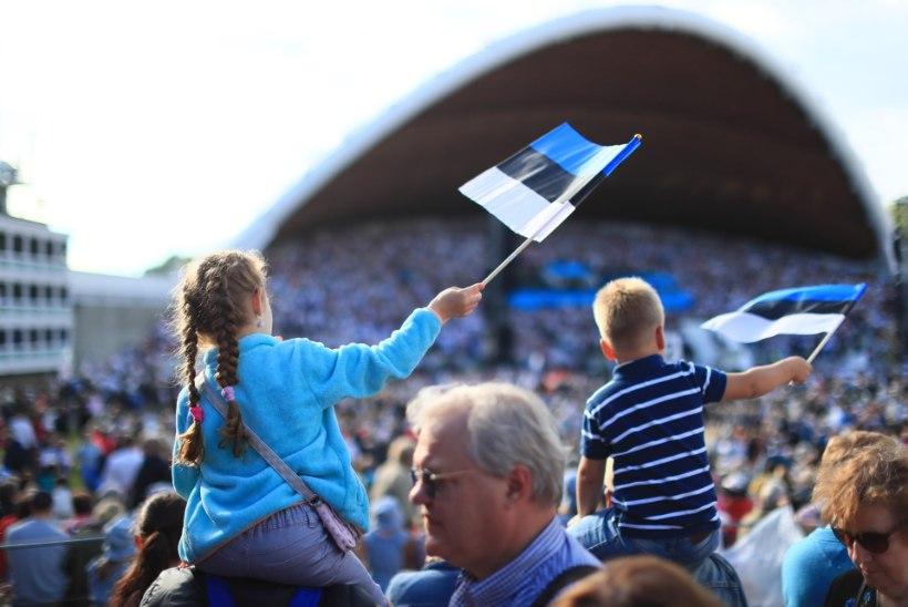 Enam kui 100 000 inimest kinkisid Eestile väärilise juubelipeo