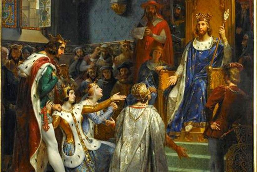 Kurjusest läbi imbunud Navarra kuningas oli valmis oma naise ka pandimajja viima