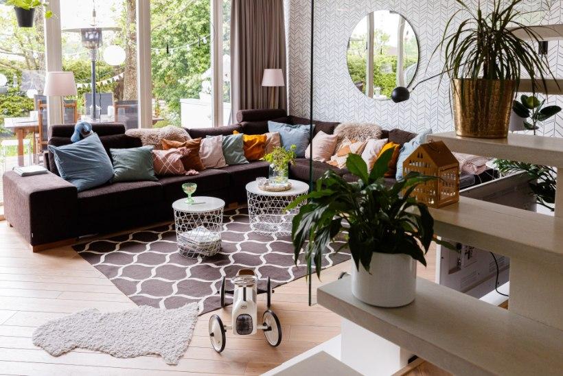 Mesimagusa olemise kütkeis: kaunis kodu Viimsis võlub mänguliste lahenduste ja mahedate värvidega