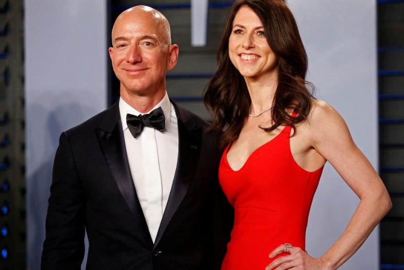 Amazoni omanik Jeff Bezos sai lõpuks lahutatud
