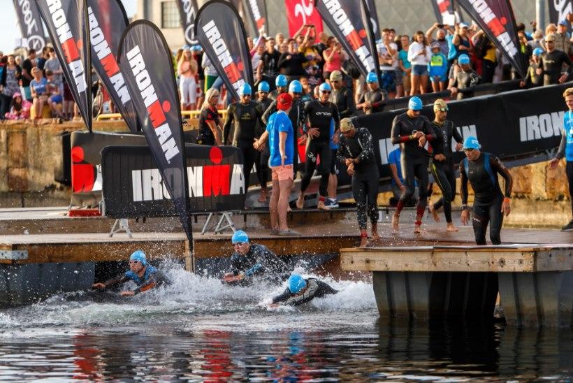 Kärekülm vesi sunnib Ironmani ujujad uude kohta