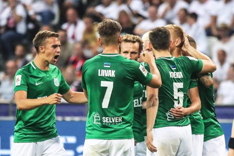 VIDEO | VÄGEV VÕITLUS! Sinjavski lõi iluvärava, Flora andis Eintrachtile võimsa lahingu