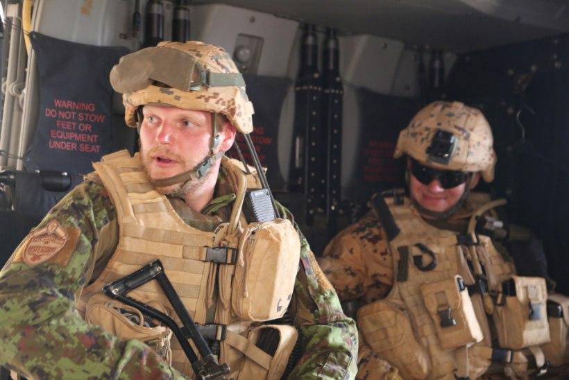 Malis haavata saanud Eesti kaitseväelane: plahvatus lõi kuulivesti seljas täitsa sassi!