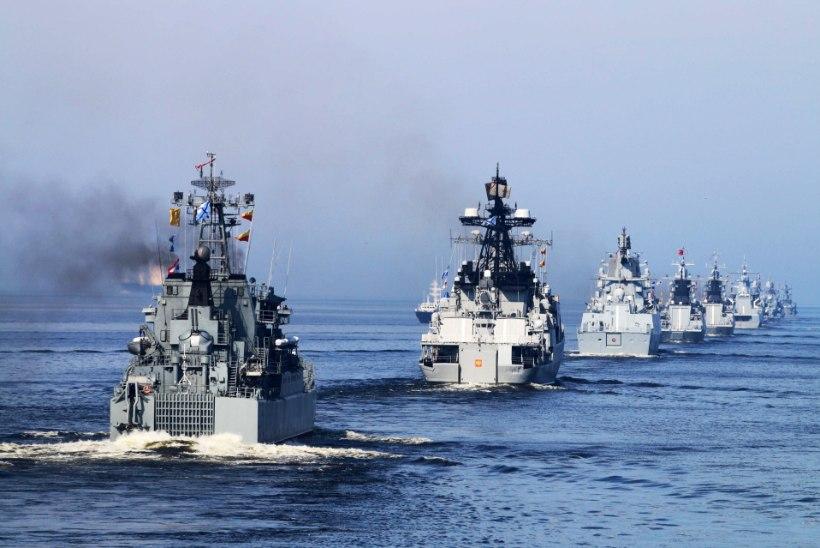JÕUDEMONSTRATSIOON: Vene merevägi alustas Läänemerel suurõppust