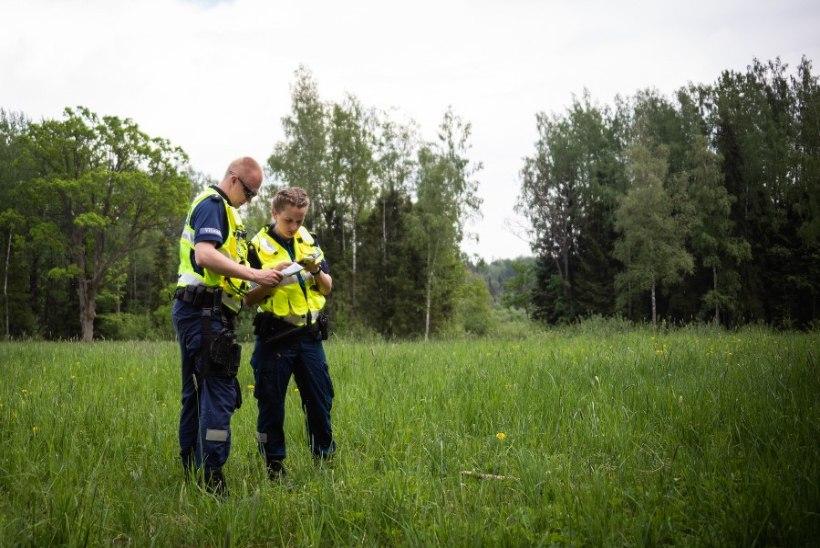 KASULIK UNDAMINE: metsa eksinud seeneline päästeti politseisõiduki sireeni abil