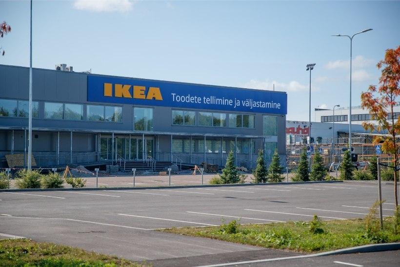 PILTUUDIS   Siit ta tuleb! IKEA silt on püsti!