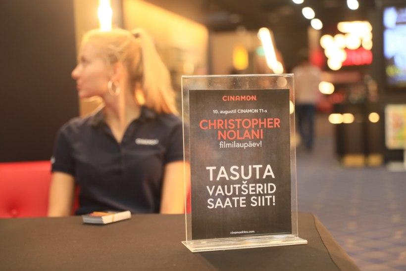 FOTOD | Eestis filmimas käinud Christopher Nolani linateosed meelitasid tasuta seanssidele omajagu fänne