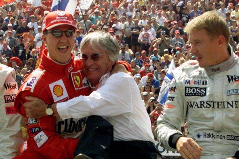 Mika Häkkinen võttis Schumacherite teemal sõna