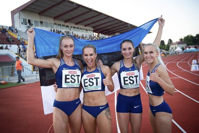 Aplaus ja sügav kummardus: Eesti kergejõustikukoondis EMil parim!