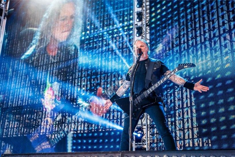 Vaata, kui palju teenis Metallica Tartu kontserdi piletimüügiga
