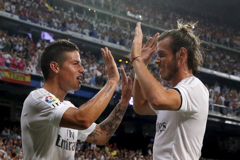 Zinedine Zidane: James ja Bale on Madridi Reali mängijad, saan nende peale loota
